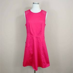NWT The Limited Hot Pink Sleeveless Dress
